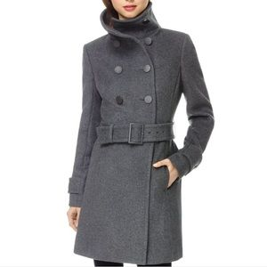 Aritzia Babaton Bromley Wool and Cashmere Military